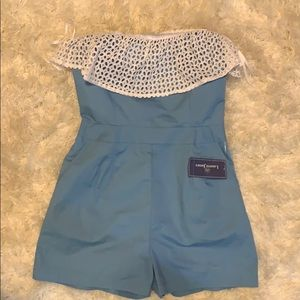 NEW WITH TAGS! Lauren James romper size medium